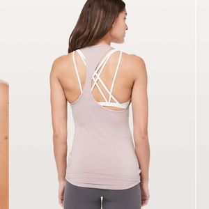 Lululemon take it further tank. Size 12. New
